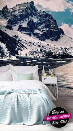 Mountain Alps wallpaper  mountain view  wall art decor