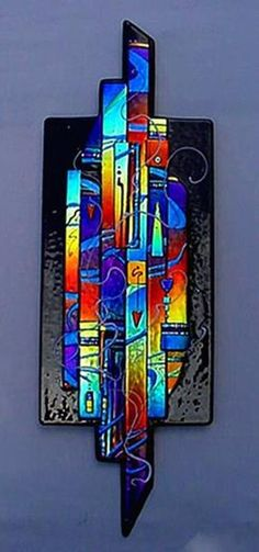 Everything made of Glass Glass Wall Art, Fused Glass Art, Dichroic Glass, Stained Glass Art, Panel Art, Wall Sculptures, Sculpture Ideas, Glass Design, Glass Jewelry