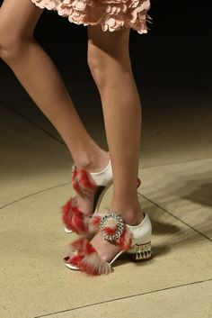 miu miu clutch bag e bay Crazy Shoes, Me Too Shoes, Miu Miu Clutch, Clutch Bag, Polka Dot Shoes, Couture Handbags, Giuseppe Zanotti Heels, Denim Shoes, Shoe Art
