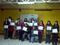 Ceremonia de certificación Curso Computación Básica – Curicó