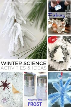 Create a fun winter theme for preschool with these easy preschool winter activities for kids. From winter crafts, winter slime, winter science experiments.