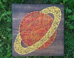 MADE TO ORDER- Saturn String Art