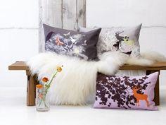 Obliečka na vankúš Lilac Danish Interior Design, Purple Home, Deco Design, Decoration Table, Purple Rain, Medusa, Copenhagen, Lilac, Cushions