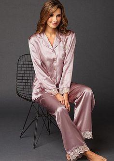 MULHERES DE CAMISOLA   MULHERES DE CAMISOLA Pyjama Satin b25802126