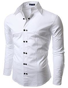 Snow White luxurious Linen-Cotton SHIRT with double fusing Banded collar