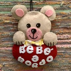Teddy Bear, Toys, Crochet, Animals, Biscotti, Hand Embroidery Patterns, Bebe, Activity Toys, Animales