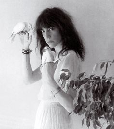 Patti Smith by Robert Mapplethorpe    Put down whatever it is you're doing and read Just Kids.