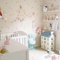 I spy our 'Cooler Than Ice-Cream' print in this perfectly styled little girls room by @fee_loves_