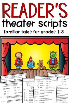 Fairy Tale Reader's Theater Scripts