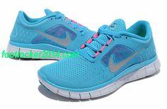 Nike Free Run 3 Sneaker For Women Dark Turquoise