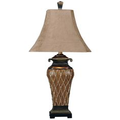 Have to have it. Uttermost 27211 Cortina Table Lamp - $184.8 @hayneedle