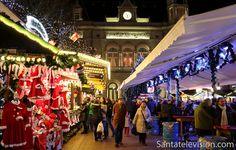 Joulumarkkinat Luxembourgin kaupungissa