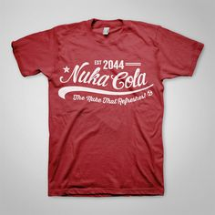 Fallout T-Shirt Design - Nuka Cola  www.ellomate.co.uk www.ellomateshop.co.uk