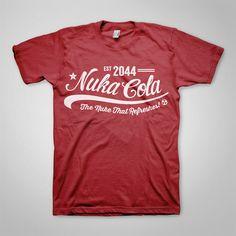 Fallout T-Shirt Design - Nuka Cola  www.ellomate.co.uk www.ellomateshop.co.uk
