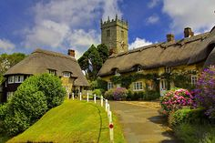 Godshill, Isle of Wight, UK