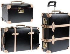Luggage with a classic style but modern functionality.