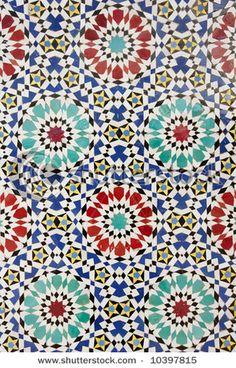 arabic tile accents