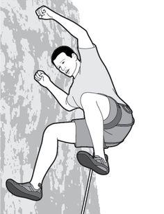 How to Fall   Climbing Magazine