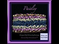 Rainbow Loom Band Paisley Bracelet Tutorial/How To
