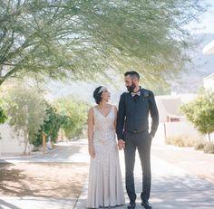 Vintage-Bohemian Palm Springs Wedding: Miran + Brian | Green Wedding Shoes Wedding Blog | Wedding Trends for Stylish + Creative Brides