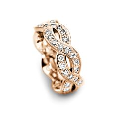 Infinity band ring; obsessed!