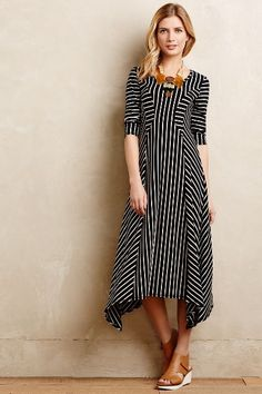 Pieced Stripe Dress - anthropologie.com #anthrofave