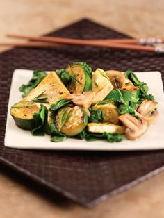 "Marinated Vegetables w/ tofu - Medifast ""leaner"" meal"