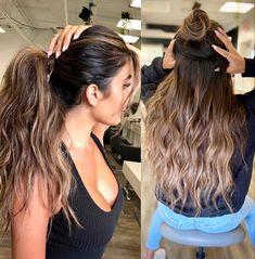 Brown Balayage, Hair Inspiration, Long Hair Styles, Beauty, Dress Making, Long Hair Hairdos, Long Haircuts, Long Hair Cuts, Long Hairstyles