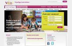 Vrijwillige Inzet Arnhem bevordert en ontwikkelt maatschappelijke participatie door middel van vrijwilligerswerk. http://cowpunks.nl/portfolio_webdesign_websites_webapplicaties_onlinemarketing/vrijwillige_inzet_arnhem