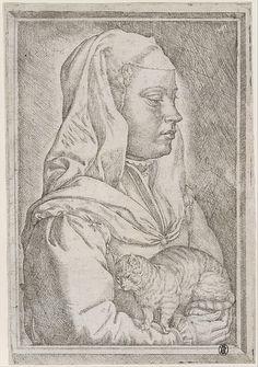 Jan Cornelisz Vermeyen (Netherlandish, 1500–1559). Girl with a Cat, 1545. The Metropolitan Museum of Art, New York. Harris Brisbane Dick Fund, 1933 (33.52.74)