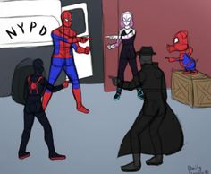Hahahaha that scene is so freaking funny! 😂😂 Into the spider verse Spiderman Peter Parker marvel Spider-Gwen Spidey headcannon fandom movies comics nerd geek Spiderham Miles Morales Marvel Jokes, Marvel Dc Comics, Marvel Funny, Marvel Art, Funny Comics, Ms Marvel, Marvel Avengers, Captain Marvel, Captain America