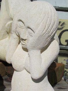 Oamaru Sculpture - Dispair – Fluffymilk.com Ltd