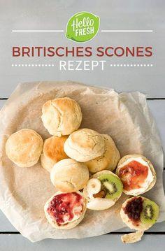 Wie wäre es mit einem englischen Scones Rezept zum Afternoon Tea? Sichere dir jetzt 25€ Rabatt für deine ersten zwei Kochboxen auf www.hellofresh.de mit HELLOPINTEREST