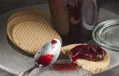 Δείτε τη συνταγή! Food Categories, Jelly, Panna Cotta, Sweet Tooth, Cheesecake, Pudding, Sweets, Canning, Ethnic Recipes