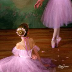 Image discovered by maru Find images and videos about dance, ballet and ballerina on We Heart It - the app to get lost in what you love. Ballet Painting, Dance Paintings, Ballet Art, Ballet Dancers, Ballerinas, Raindrops And Roses, Ballerina Dancing, Ballerina Art, Ballerina Project