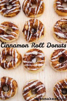 cinnamon roll donuts1 682x1024 Cinnamon Roll Donuts