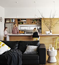 Bursting with natural light, Melissa Philip has created a beautiful and functional family home with colour and space.