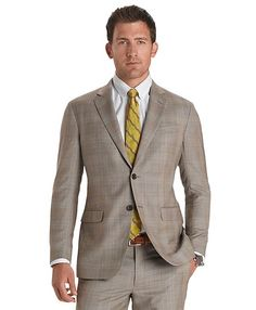 Milano Plaid Deco 1818 Suit - Brooks Brothers