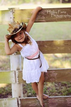 Little cowgirl!