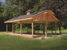 Recreation Buildings | Cabanas, Pavilions & Crown Covers | Barn Pros
