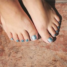 Crystal Pedicure www.nailsmag.com