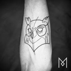 As tatuagens minimalistas de Mo Ganji - .