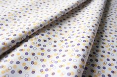 Fabric Finders #1339 Purple Gold Dots