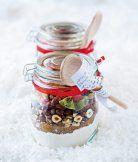 Instantní směs na vánoční muffiny Christmas Diy, Christmas Decorations, Xmas, Gift Packaging, Spices, Food And Drink, Presents, Homemade, Baking