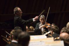 OPL / Emmanuel Krivine / Gil Shaham (23.01.2015, photo: @alsallo) #violin