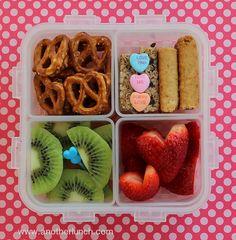 Lock and Lock Bento Valentines Day Snack