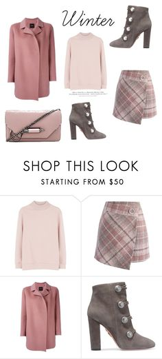 """137"" by meldiana ❤ liked on Polyvore featuring Varley, Chicwish, Theory, Aquazzura, Mackage and H&M"