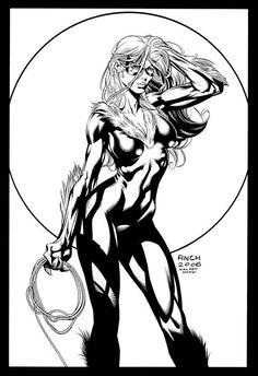 Black Cat inks - Finch 2006 - W.B.