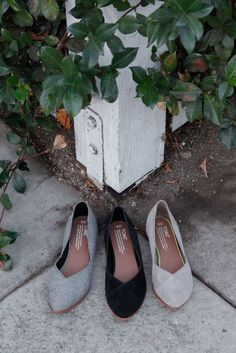 4c21dbdfa84 Click to shop ballet inspired TOMS Jutti Flats in embossed suede and  chambray styles. Toms