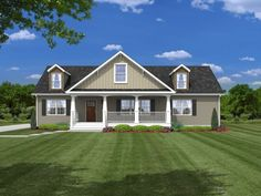 Our Exteriors are goregous at R-Anell Homes! Check out our gallery to find a home to suit your style!
